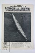 WWII The Illustrated London News, April 21, 1945, November 25, 1944 - The Tripitz Sunk Ship - Philippines Battle Scenes - Historia