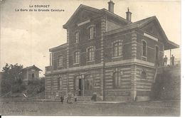 LA GARE DE LA GRANDE CEINTURE - Le Bourget