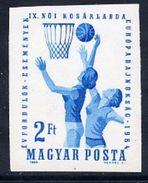 HUNGARY 1964 Women's Basketball Imperforate  MNH / **.  Michel 2062B - Hungary