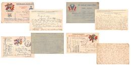 Lot De 83 CPA En Franchise - Correspondance Des Armées De La République - Témoignages De Guerre 1914 1918 - Autres