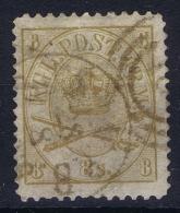 Denmark: Mi 14 B Obl./Gestempelt/used Perfo 12,50   1864 - 1864-04 (Christian IX)