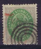 Danish West Indies : Mi 12 Obl./Gestempelt/used  1875 - Denmark (West Indies)