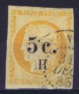 Reunion:  Yv Nr 6 Obl./Gestempelt/used  1885 - Réunion (1852-1975)
