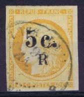Reunion:  Yv Nr 6 Obl./Gestempelt/used  1885 - Reunion Island (1852-1975)