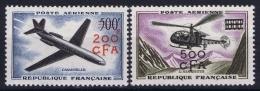 Reunion:  Yv Nr AE 56 - 57  MNH/** Neuf Sans Charnière  Postfrisch  1957 - Réunion (1852-1975)