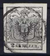 Austria: Mi 2 Obl./Gestempelt/used - 1850-1918 Imperium