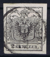 Austria: Mi 2 Obl./Gestempelt/used - Gebraucht
