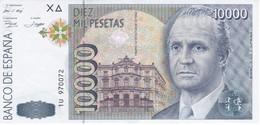 BILLETE DE ESPAÑA DE 10000 PTAS DEL 12/10/1992 SERIE 1U EN CALIDAD EBC (XF) - [ 4] 1975-… : Juan Carlos I