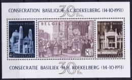 Belgium: OBP BL30 1952 MH/* Flz/ Charniere  Mi Nr 24 - Blocks & Sheetlets 1924-1960