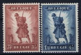 Belgium: OBP 351 - 352  MH/* Flz/ Charniere  1932 - Unused Stamps