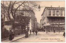 MONTAUBAN - Rue De La République - Montauban