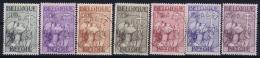 Belgium: OBP 377 - 383 Obl./Gestempelt/used  1933 - Belgium