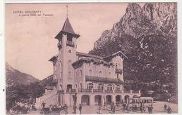 Pasubio - Hotel Dolomiti Con Auto Postale - 1927        (A-60-140809) - Andere Städte