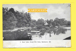 3 Boat Lake , Druit Hill Park, Baltimore, Md. - Précurseur - Baltimore