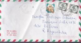 MEDUNA DI LIVENZA TO BUENOS AIRES CIRCA 1999 AIRMAIL FULL CONTENT INSIDE - BLEUP - 6. 1946-.. Republic