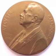 Médaille Bronze. Chambre Des Représentants à Auguste Raemdonck Son Doyen. G. Devreese. 70 Mm - 135 Gr - Professionnels / De Société