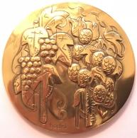 Médaille Pour Anniversaire De Mariage. Antonio Et Jacqueline. 1951 - 2001. Bodini . 60mm - Otros