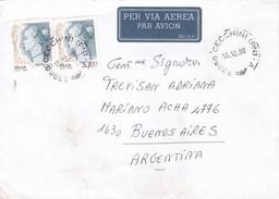 VENETO TO BUENOS AIRES CIRCA 1998 AIRMAIL - BLEUP - 6. 1946-.. Republic