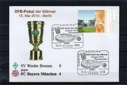 Deutschland, 2010, Brief Mit Michel 2519 Und Sonderstempel, Endspiel DFB-Pokal - [7] République Fédérale