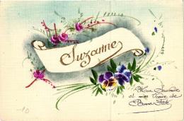 """FANTAISIE """"SUZANNE"""" REF 54457 - Prénoms"""