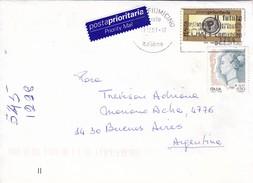 ROMA TO BUENOS AIRES CIRCA 2001 PRIORITY MAIL  - BLEUP - 6. 1946-.. Republic