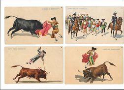 CORRIDA - Série Complète De 13 Cartes - ESPANA - ESPAGNE -    - L 1 - Corrida