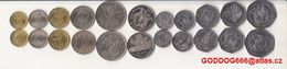 STP ,UNC Coins Set 11 Pcs - Sao Tome Et Principe