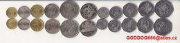 STP ,UNC Coins Set 11 Pcs - Sao Tome And Principe