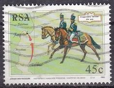 Sud Africa, 1993 - 45c Dragoons - Nr.868 Usato° - Sud Africa (1961-...)