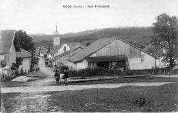 CPA De NODS (Doubs) - Rue Principale. Edition CLB. Non Circulée. TB état. - Altri Comuni