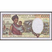 TWN - DJIBOUTI 39b - 10000 10.000 Francs 1999 Prefix U.001 UNC - Gibuti