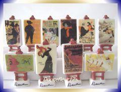 Toulouse Lautrec ... Série Complète ... Ref : AFF : 29-2006...(pan 0030) - Characters