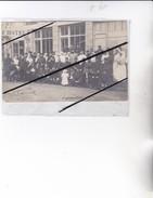 Carte Photo Groupe De Militaires Et Infirmiéres à Identifier à Localiser-306ém Régiment D'Infanterie Soldat Albert REMY - Personnages
