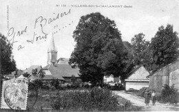 CPA De VILLERS-sous-CHALAMONT (Doubs) - Edition David-Mauvas. Numéro 178. Circulée En 1905. Bon état. - Altri Comuni