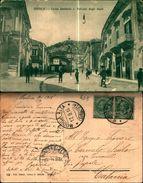 7762a)  Cartolina   MODICA-corso Umberto Ipalazzo Degli Studi-ed.g.caruso - Modica