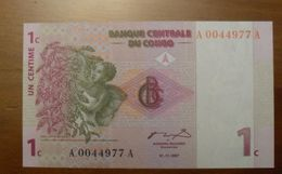 1997 - Congo - 1 CENTIME - 01.11.1997 - A 0044977 A - Congo