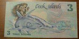 1987 - Cook Islands - 3 DOLLARS - AAQ  003221 - Cook Islands