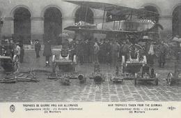 Trophées De Guerre Pris Aux Allemands: Aviatik Allemand, Mortiers - Carte E.L.D. Non Circulée - 1914-1918: 1ère Guerre
