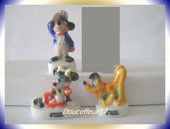 Mickey S'amuse Email ... Lot De 3 ... Ref : AFF : 18-1996...(pan 0020) - Disney