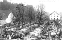 CPA De MAICHE (Doubs) - Le Champ De Foire. Edition Simon. N° 234. Circulée En 1907. Bon état. - Altri Comuni