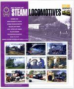 THEMATIQUE TRAINS ANTIGUA & BARBUDA (2004) Yv. 3493/01 / Train - Railway - Locomotiv BLOC NEUF  ** SANS CHARNIERE REF950 - Treni
