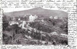 [DC9303] CPA - LAGO MAGGIORE - PIAN QUAGIE' COLL'ALBRGO MONTE ZEDA - Viaggiata 1908 - Old Postcard - Hotels & Restaurants