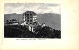 [DC9304] CPA - HOTEL MOTTARONE SOPRA IL LAGO MAGGIORE E IL LAGO D´ORTA IL RIGHI D'ITALIA - Non Viaggiata - Old Pos - Hotels & Restaurants