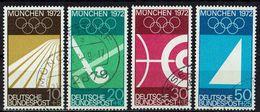 BRD 1969 // Mi. 587/590 O - [7] West-Duitsland