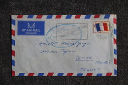 Lettre De MADAGASCAR ( TANANARIVE ) Vers FRANCE ( BITCHE) - Timbre FM - Madagascar (1960-...)