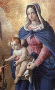 """Santino VERGINE MARIA, Con Preghiera (""""MEMORARE"""") Sul Retro - N88 - Religione & Esoterismo"""
