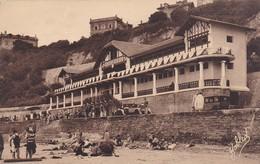 Postcard Biarritz Etablissement Des Bains De La Cote Basque By Marcel Delboy  My Ref  B11734 - Biarritz