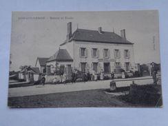 Réf: 91-18-1.           CORQUILLEROY   Mairie Et Ecole. - Autres Communes