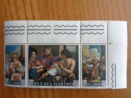 SAINT MARIN 1967 Y&T N° 694 à 696 ** - TABLEAUX DU GUERCINO - San Marino