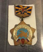 Russia/USSR Medal 30 Years Of The Engels Military Aviation School - Russia